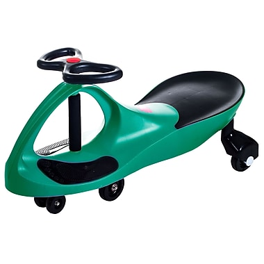 Lil' Rider Wiggle Ride-on Car, Green