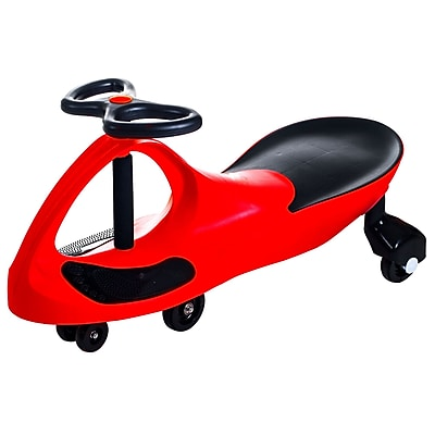 Trademark Lil' Rider Wiggle Ride-on Car, Red