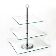 Chef Buddy Two/Three Tier Dessert Stands, Glass or PVC
