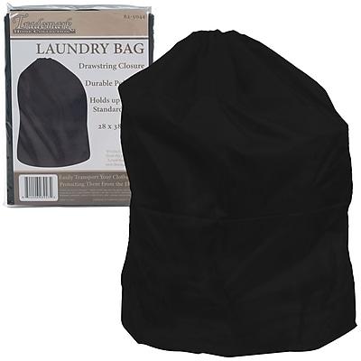 Trademark Heavy Duty Jumbo Sized Laundry Bag, Black
