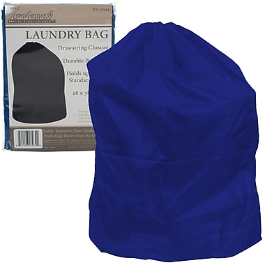 Trademark Heavy Duty Jumbo Sized Laundry Bag, Blue