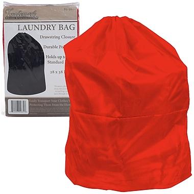 Trademark Heavy Duty Jumbo Sized Laundry Bag, Red