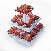 Chef Buddy 3 Tier Cupcake Dessert Stand Tray