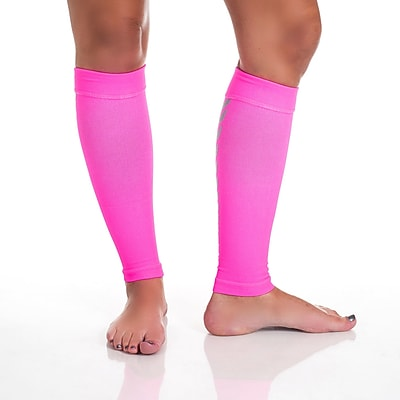Remedy™ Calf Compression Running Sleeve Socks, Pink, Small