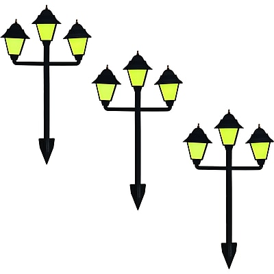 Trademark Glow-in-the-Dark Classic Lamp Style Luminaries, 3/Set