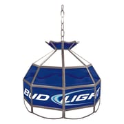 "Trademark 16"" Tiffany Gameroom Lamp, Bud Light"