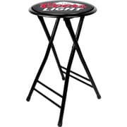 "Trademark 24"" Cushioned Folding Stools"