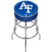 "Trademark 31"" Padded Swivel Bar Stool, United States Naval Academy (Made in USA)"