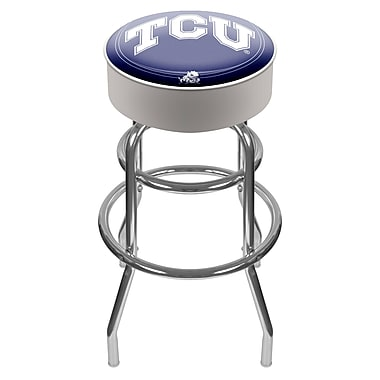 Trademark NCAA® 31'' Novelty Swiveling Base Padded Bar Stool, Chrome (844296017614)