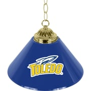 "Trademark NCAA 14"" Single Shade Gameroom Lamp, University of Toledo"