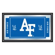 "Trademark 15"" x 27"" x 3/4"" Wooden Logo and Mascot Framed Mirror, Air Force Falcons"