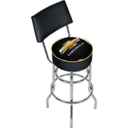 "Trademark 40"" ADG Padded Swivel Bar Stool With Back, Chevrolet"