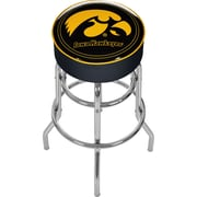 "Trademark 30"" NCAA Padded Swivel Bar Stool, University of Iowa"