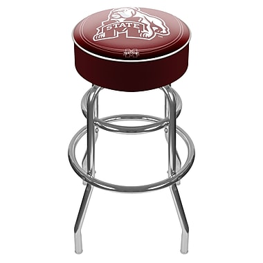 Trademark NCAA® 31'' Novelty Swiveling Base Padded Bar Stool, Chrome (844296040858)