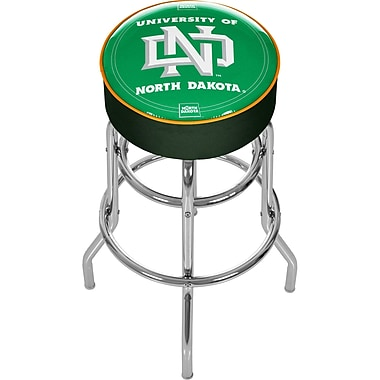 Trademark NCAA® 31'' Novelty Swiveling Base Padded Bar Stool, Green (844296017713)