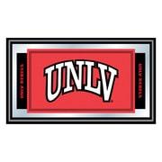 "Trademark NCAA 15"" x 26"" x 3/4"" Wooden Logo and Mascot Framed Mirror, UNLV"