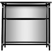 "Trademark 36"" Metal Portable Bar With Case, Ohio State University, Black"
