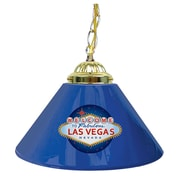 "Trademark 14"" Single Shade Gameroom Lamp, Welcome to Las Vegas"