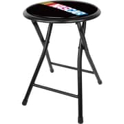 "Trademark 18"" Cushioned Folding Stool, NASCAR"