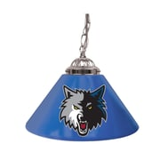 "Trademark NBA 14"" Single Shade Gameroom Lamp, Minnesota Timberwolves"