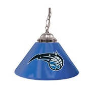 "Trademark NBA 14"" Single Shade Gameroom Lamp, Orlando Magic"