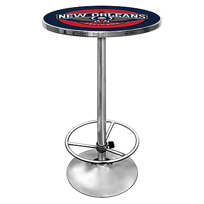 Trademark NBA Chrome Pub Table, New Orleans Pelicans 1182785