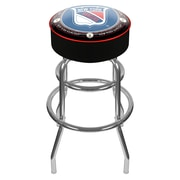 "Trademark 31"" NHL Throwback Padded Swivel Bar Stool, New York Rangers"