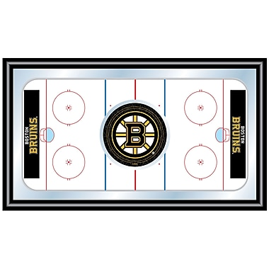Trademark NHL Wooden Hockey Rink Framed Mirrors