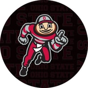 Trademark Chrome Pub Table, Ohio State Brutus Dash