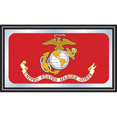 United States Marine Corps Framed Logo Mirror