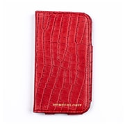 Members Only book case for Samsung Galaxy S4, Red gator