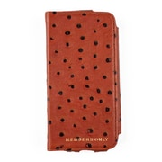 Members Only portfolio case for iPhone 5/5s/5c, Cognac ostrich