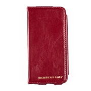 Members Only portfolio case for iPhone 5/5s/5c, Red