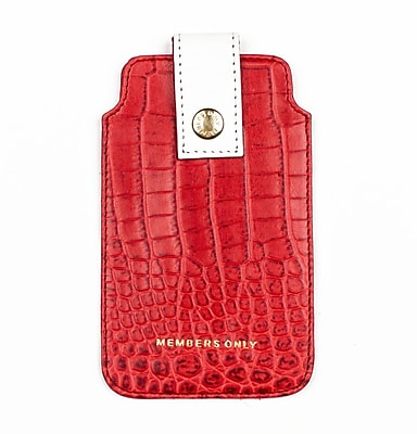 Members Only pouch for iPhone 5/5s/5c, Red gator