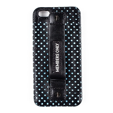 Members Only ladies snap case for iPhone 5/5s, Turquoise