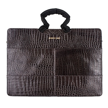 Members Only Tablet/Laptop standard briefcase, Gray gator