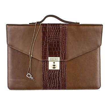 Members Only iPad briefcase, Olive