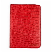Members Only Bovine Leather Portfolio Case for Apple iPad Mini, Red Gator
