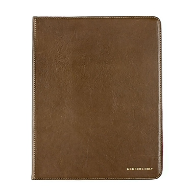 Members Only portfolio case for iPad, Olive