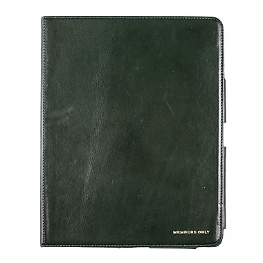 Members Only portfolio case for iPad, Green
