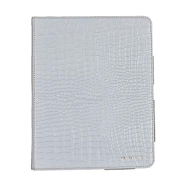 Members Only portfolio case for iPad, White gator