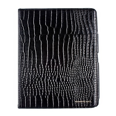 Members Only portfolio case for iPad, Black gator