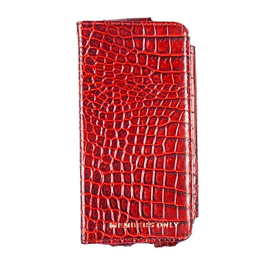 Members Only portfolio case for iPhone 5/5s/5c, Red gator