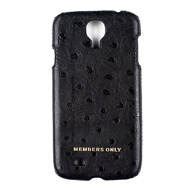 Members Only case for Samsung Galaxy S4, Black ostrich