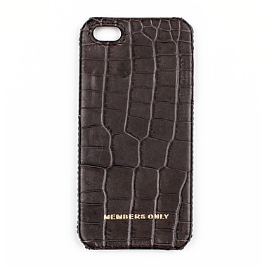 Members Only bumper case for iPhone 5/5s, Gray gator