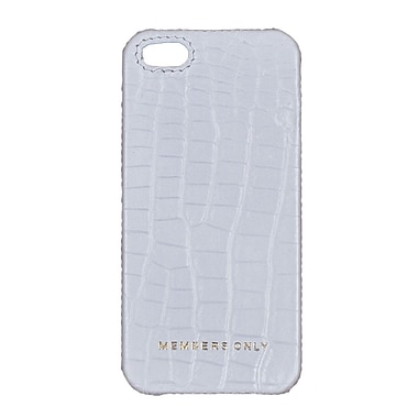 Members Only bumper case for iPhone 5/5s, White gator