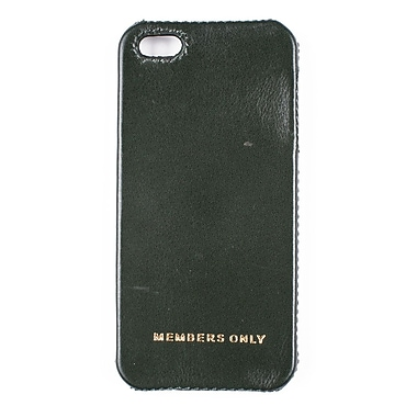 Members Only bumper case for iPhone 5/5s, Green