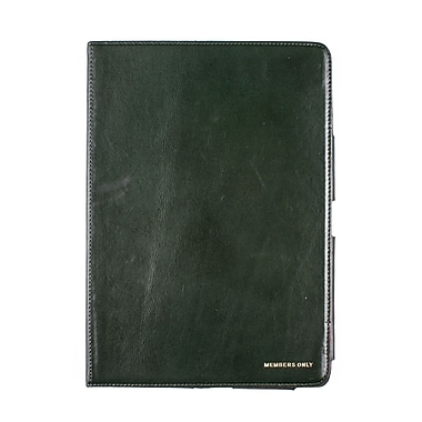Members Only portfolio case for iPad Mini, Green