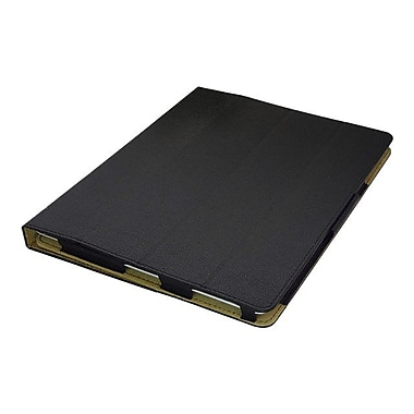 Premiertek CS-IPAD3-BK Leather Folio Case for Apple iPad 2/3/4, Black