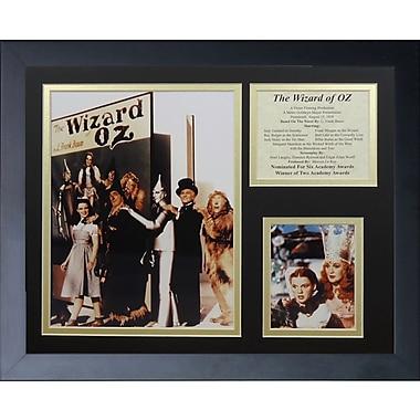 Legends Never Die Wizard of Oz - Bookcover Framed Memorabili